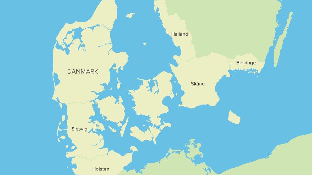 Danmarks grænser